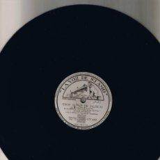 Discos de pizarra: JORGE NEGRETE - VARGAS TECALITLÀN - ESOS ALTOS DE JALISCO - YO SOY MEXICANO - SIN FUNDA - FOTO. Lote 36055960