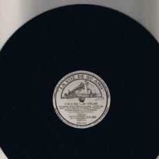 Discos de pizarra: RAFAEL MEDINA Y SU ORQUESTA - CUARTETO ORPHEUS - INTERMEZZO - VALS DE LAS VELAS - SIN FUNDA - FOTO . Lote 36056093