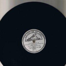Discos de pizarra: RAFAEL MEDINA - ORQUESTA MARTIN DE LA ROSA - TRISTEZA - PERFIDIA - SIN FUNDA - FOTO ADICIONAL. Lote 36056267