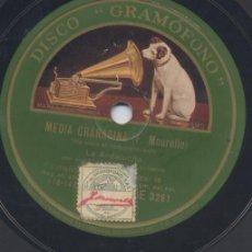 Discos de pizarra: ANDALUCITA GUAJIRAS DE CUBA M GRANAINAS JOSE REVUELTA 1930. Lote 36282326