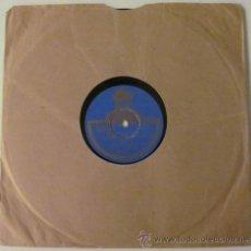 Discos de pizarra: VALLEJO - BULERIAS / FANDANGO DEL GRAN PODER - DISCO PIZARRA 78 RPM. Lote 36346547