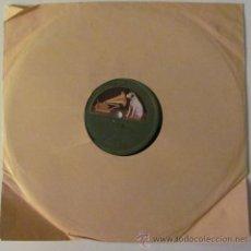 Discos de pizarra: MANUEL VALLEJO - FANDANGOS POR SOLEA / MALAGUEÑAS - DISCO PIZARRA 78 RPM. Lote 36346555