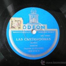 Discos de pizarra - ORQUESTA ALEXANDRE: LAS CASTIGADORAS. - 36355787