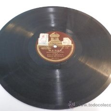 Disques en gomme-laque: DISCO PIZARRA ODEON-VALS-MARCOS REDONDO, RAMONA/MABEL. Lote 36412246