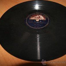 Discos de pizarra: RARO DISCO DE PIZARRA LOLA FLORES BULERIAS Y TANGUILLOS EN SOLITARIO. Lote 36765653