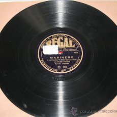 Discos de pizarra: PILAR ARCOS - MARINERO - FLOR CAIDA - DISCO DE PIZARRA. Lote 36928564