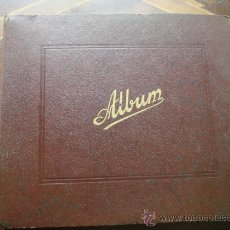 Discos de pizarra: ANTIGUO ALBUM DE DISCOS DE PIZARRA. CONTIENE 12 DISCOS. C.1940. Lote 37094190