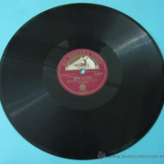 Discos de pizarra: LIONEL HAMPTON AND THE KING COLE TRIO, JIVIN' WITH JARVES. HIS MASTER'S VOICE B9589. Lote 37272662