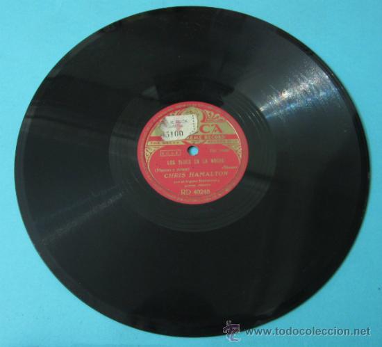CHRIS HAMALTON CON EL ORGANO HAMMOND Y ACOMP. RÍTMICO. TEMPTATION RAG / LOS BLUES EN LA NOCHE (Música - Discos - Pizarra - Jazz, Blues, R&B, Soul y Gospel)