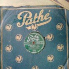 Discos de pizarra: LISETTE JAMBEL - LES GALIPETTES + EVELYNE (PATHÉ,1946) CABARET FRANCES ERA EDITH PIAF. Lote 37297619