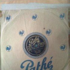 Discos de pizarra: LISETTE JAMBEL - LE PETIT CHAPERON ROUGE +JE ME MARIE DEMAIN (PATHÉ,1946) CABARET ERA EDITH PIAF. Lote 37297707
