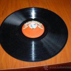 Discos de pizarra: LA COPLA NUEVA NO PUEDO VIVIR CONTIGO (QUINTERO LEON Y QUIROGA) ZAMBRA LUISA ORTEGA CON ACOMP. DE OR. Lote 37458411