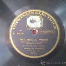 Discos de pizarra: DISCO DE PIZARRA . Lote 37541822