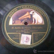 Discos de pizarra: DISCO DE PIZARRA . Lote 37542064
