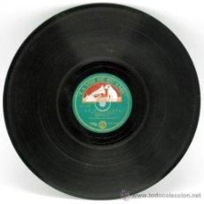 Discos de pizarra: DISCO PIZARRA IRMA VILLA Y SU MARIACHI LA MALAGUEÑA YA NO LA VOZ DE SU AMO. Lote 37688980