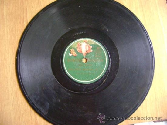 Discos de pizarra: Disco de pizarra Odeón 13282 13283. La niña de los peines: Cartageneras nº 1, Bulería nueva nº 1 - Foto 2 - 37986977