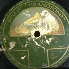 Discos de pizarra: DISCO DE PIZARRA HMV AE1077, EL MÉTODO CLÁSICO. Lote 38101817