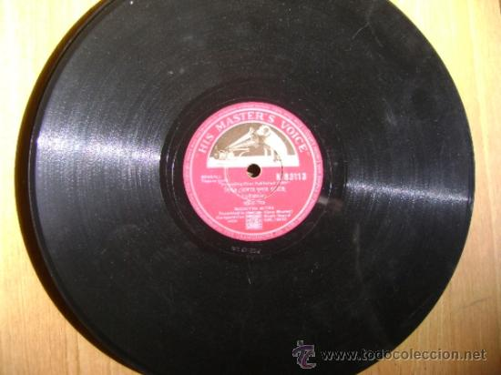 Discos de pizarra: Disco de pizarra HMV N83113. Suchitra Mitra, Tagore Song. Bollywood, India. - Foto 2 - 38105306