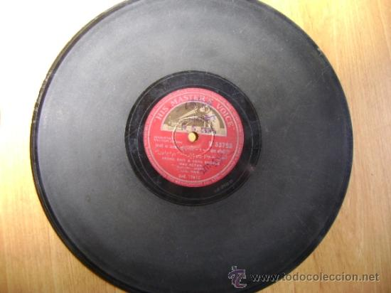 Discos de pizarra: Disco de pizarra HMV N53798. Mohd Rafi & Asha Bhosle, Nav Ketan. Bollywood, India. - Foto 4 - 38105439