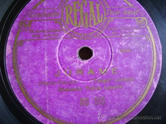 Discos de pizarra: Disco de pizarra Regal RS913. Orquesta Típica Lacalle: Gloria / Júrame - Foto 3 - 38106120