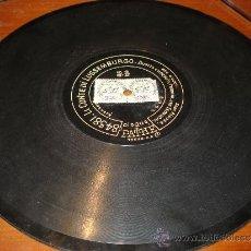 Discos de pizarra: DISCO PIZARRA CONTE DE LUSSEMBURGO DOS CARAS. Lote 38350926