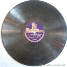 Discos de pizarra: DISCO 78 RPM PIZARRA - ROBERTO INGLEZ Y SU ORQUESTA.- LA CANCION DE DALILA - ETERNAMENTE SAMBA. Lote 38373552