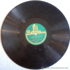Discos de pizarra: DISCO 78 RPM PIZARRA - ROBERTO INGLEZ Y SU ORQUESTA.- NUESTRA HISTORIA DE AMOR - SAMBA ESCOCESA.. Lote 110285124