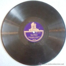 Discos de pizarra: DISCO 78 RPM PIZARRA - ROBERTO INGLEZ Y SU ORQUESTA DEL HOTEL SAVOY DE LONDRES - LA BOTA - PELADINHO. Lote 194987057