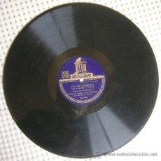 Discos de pizarra: DISCO 78 RPM PIZARRA - DALVA DE OLIVEIRA CON ROBERTO INGLEZ Y SU ORQUESTA - FIN DE COMEDIA - KALU.. Lote 38449780