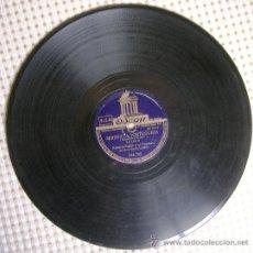 Discos de pizarra: DISCO 78 RPM PIZARRA. ROBERTO INGLEZ Y SU ORQUESTA - SERENATA PORTUGUESA (BOLERO) - MI LOCO CORAZON.. Lote 38450513