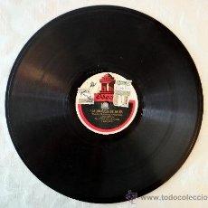 Discos de pizarra: LA GRANJERA DE ARLÉS, FARANDOLA,. Lote 38926392