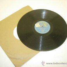 Discos de pizarra: DISCO DE PIZARRA LA VOZ DE SU AMO-MALAGUEÑAS/SEVILLANAS PARA BAILAR ORQUESTA VILCHES. Lote 34961683