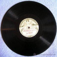 Dischi in gommalacca: DISCO 78 RPM PIZARRA OPERA - DON PASQUALE ( DONIZETTI) - VORREI..!, (TOSTI) . DE ITALIA, NUM. 367. Lote 39071490