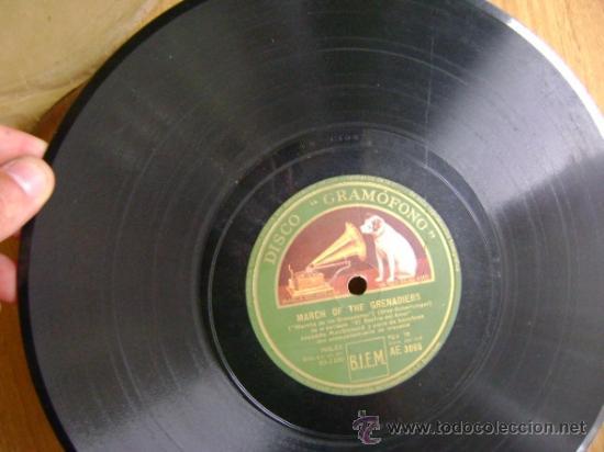 "Discos de pizarra: Disco de pizarra Gramophone AE3065 10"". Jeanette MacDonald: Dream Lover / March of the Grenadiers - Foto 5 - 39164378"