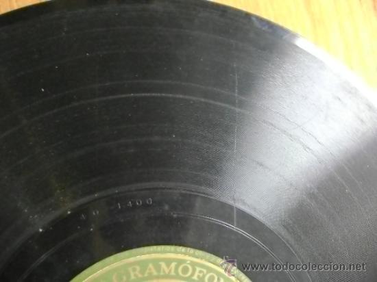 "Discos de pizarra: Disco de pizarra Gramophone AE3065 10"". Jeanette MacDonald: Dream Lover / March of the Grenadiers - Foto 6 - 39164378"