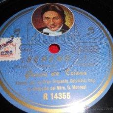 Shellac Records - GRACIA DE TRIANA ¡Sereno!/ No puedo quererte 10 25 cms Columbia ZAMBRA TANGUILLO - 39319139