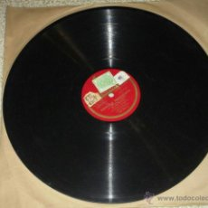 Discos de pizarra: MEUS AMORES Y ADIOS A MARIQUIÑA, MELODÍAS GALLEGAS, POR CONCHITA SUPERVIA. GALICIA. ODEON. Lote 39356256