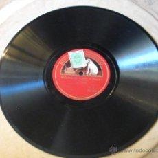 Discos de pizarra: MUSETTE DE BACH POLLAIN Y MAZURKA DE POPPER, POR PAU CASALS, VIOLONCELO. LA VOZ DE SU AMO. Lote 39682967