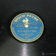 Discos de pizarra: DISCO DE PIZARRA CANTOS ASTURIANOS, POR F. ARGANZA, SOY DE LANGREO - A TU MANDIL / SOY DE PRAVIA - 8. Lote 39502869