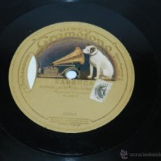 Discos de pizarra - Disco pizarra Niña de los peines, farruca y buleria nº 2, DISCO GRAMOFONO 653069 / 653021. BUEN ESTA - 39514637