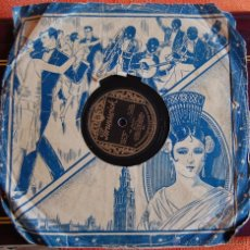 Discos de pizarra: DISCO DE PIZARRA COLONIAL CLUB ORCHESTRA // BRUNSUVICK THE MOTION PICTURE THE WOLF SONG // FOX TROT. Lote 39737730