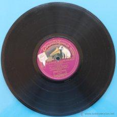 Discos de pizarra: DISCO DE GRAMOFONO: EL CONDE DE LUXEMBURGO - PARTE I Y PATE II. Lote 39775521