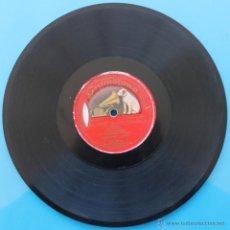 """Discos de pizarra: DISCO DE GRAMOFONO ESPAÑOL TENOR AC. ORQ """"EL TRUST DE LOS TENORIOS"""" (SERRANO) GRAMOPHONE TRADE MARK. Lote 39791260"""