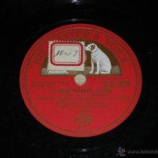 Discos de pizarra: DISCO DE PIZARRA DE ENRICO CARUSO - ED. HIS MASTERS VOICE D.B.1875 - JE CROIS ENTENDRE ENCORE - BUEN. Lote 39829139