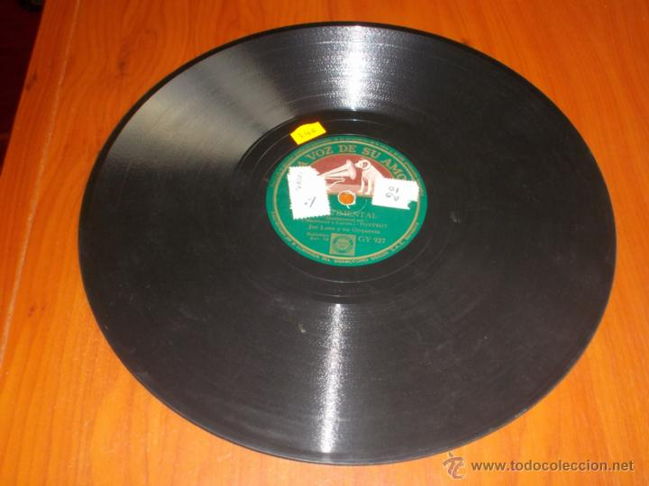 Discos de pizarra: Disco la voz de su amo sentimental y te he dicho que te amo - Foto 4 - 40035365