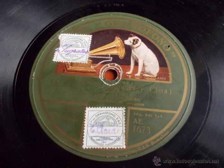 DISCO GRAMOFONO JOV - JOV (SUGRAÑES Y CLARA) (Música - Discos - Pizarra - Jazz, Blues, R&B, Soul y Gospel)
