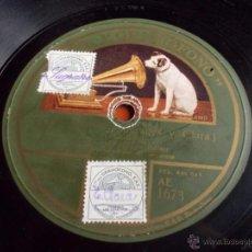 Discos de pizarra: DISCO GRAMOFONO JOV - JOV (SUGRAÑES Y CLARA). Lote 40036932