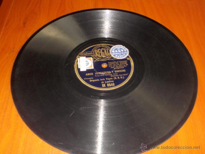 Discos de pizarra: disco regal amor verdadero y sincero y fiesta - Foto 2 - 40036007