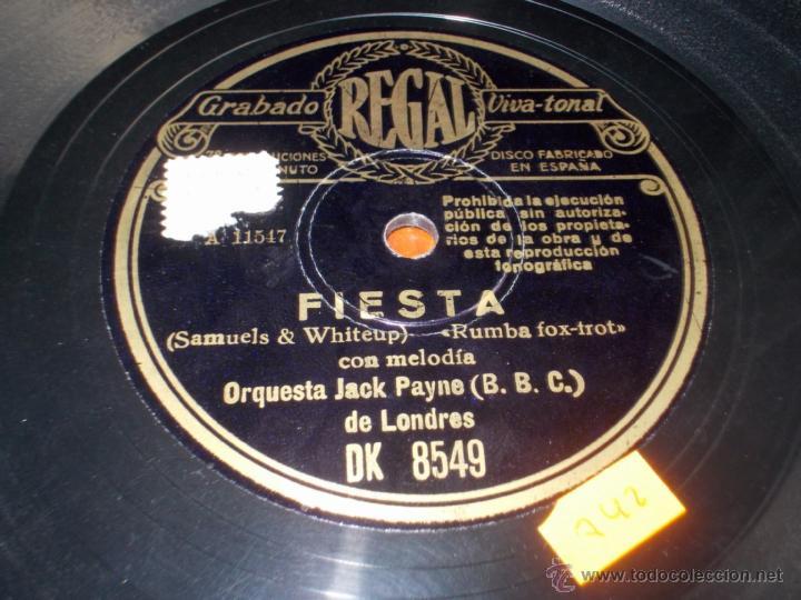 Discos de pizarra: disco regal amor verdadero y sincero y fiesta - Foto 3 - 40036007