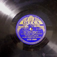 Discos de pizarra: COLE PORTER SUITE Nº1 / Nº2 LOUIS LEVY AND HIS THE MOVIES. Lote 40148541